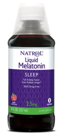 Image of Melatonin 2.5 mg Liquid Berry