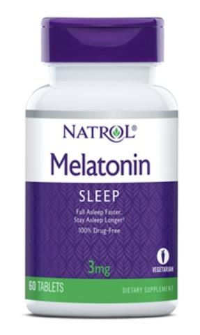 Image of Melatonin 3 mg
