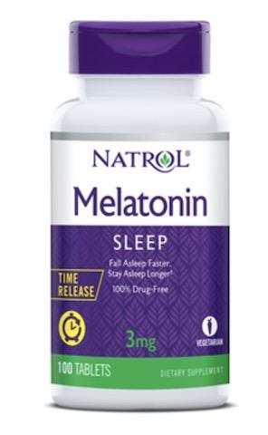 Image of Melatonin 3 mg Time Release