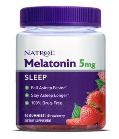 Image of Melatonin 5 mg Gummies Strawberry