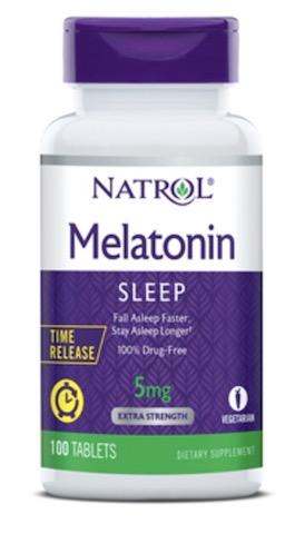 Image of Melatonin 5 mg Time Release