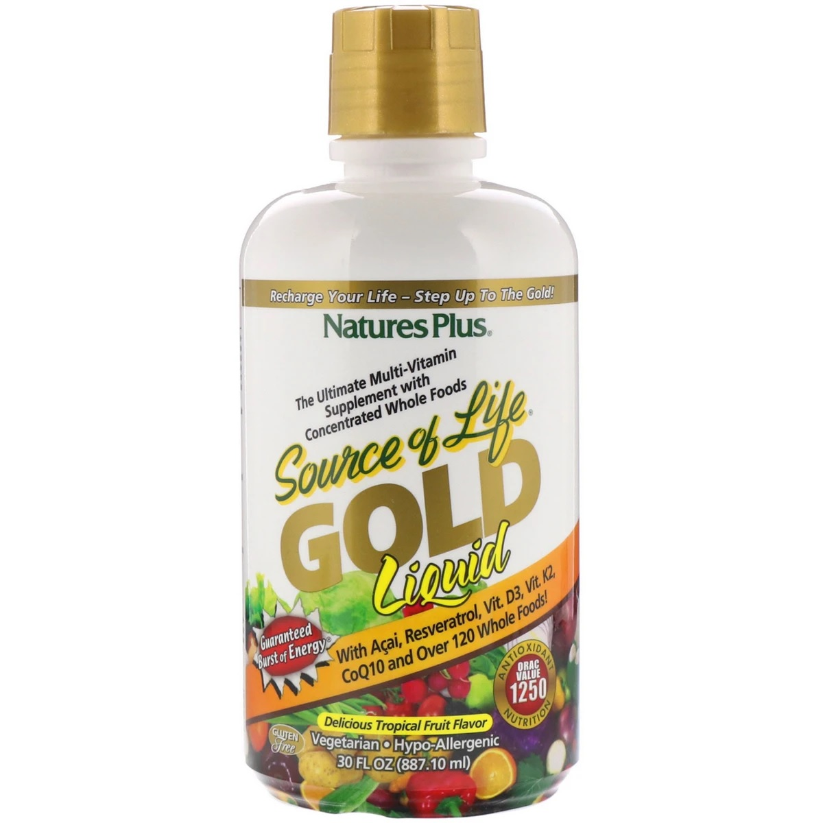 Image of Source of Life GOLD Liquid Tropical Fruit