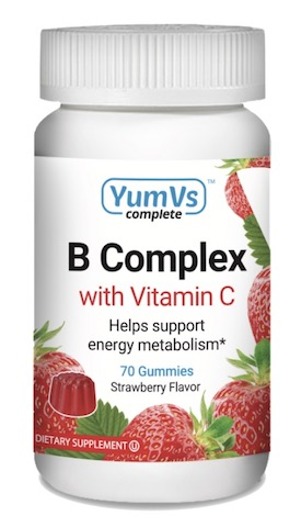 Image of B Complex with Vitamin C Gummies Strawberry