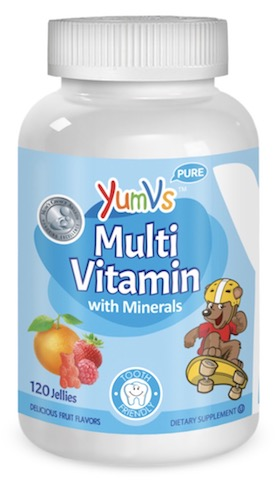 Image of Kids MultiVitamins with Minerals Jellies Fruit