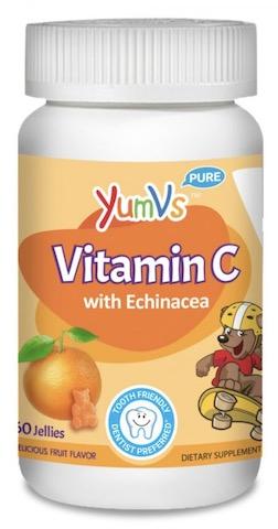 Image of Kids Vitamin C with Echinacea 100/5 mg Jellies Orange