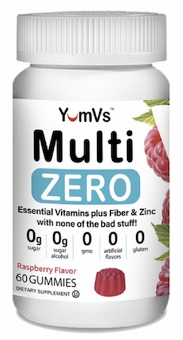 Image of Zero Multivitamin Gummies Raspberry