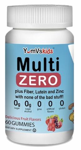 Image of Kids Zero Multivitamin Gummies Fruit