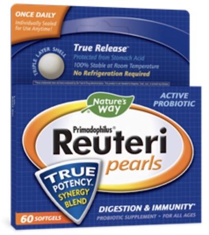 Image of Primadophilus Reuteri Probiotic Pearls