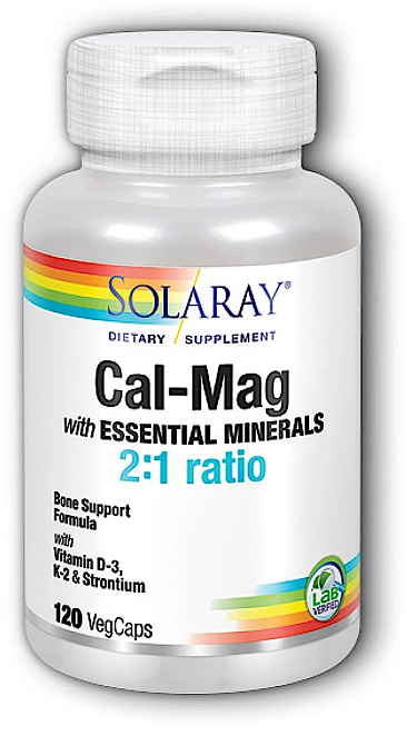 Image of Cal-Mag Strontium with Vitamin D3 2:1 Ratio