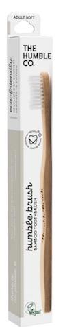 Image of Toothbrush Adult Humble Brush Bamboo Soft White