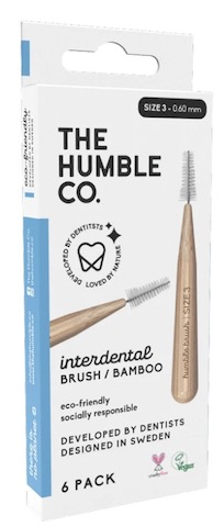 Image of Interdental Brush Bamboo Blue