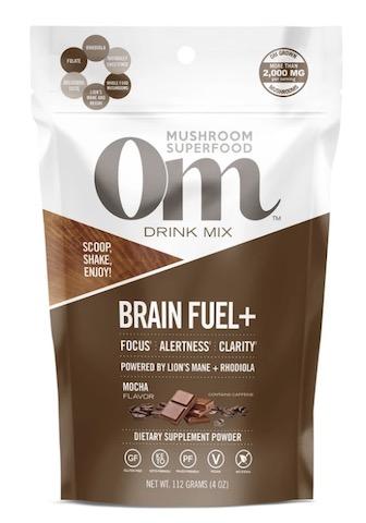 Image of Brain Fuel + Mushroom Blend Drink Mix Mocha