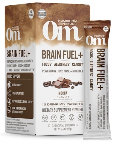 Image of Brain Fuel + Mushroom Blend Drink Mix Mocha