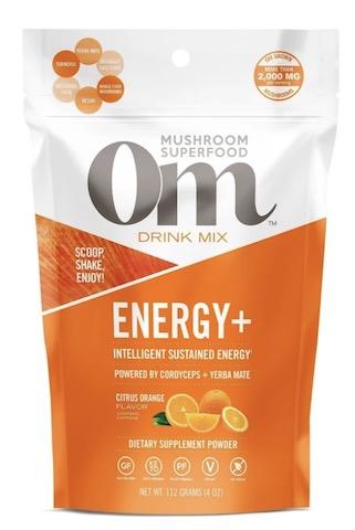 Image of Energy + Mushroom Blend Drink Mix Citrus Orange