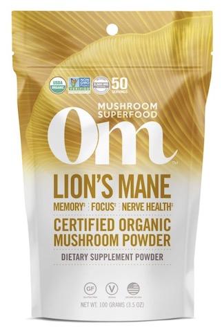 Image of Lion's Mane Mushroom Powder Organic