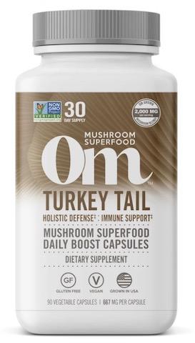 Image of Turkey Tail Mushroom Capsule
