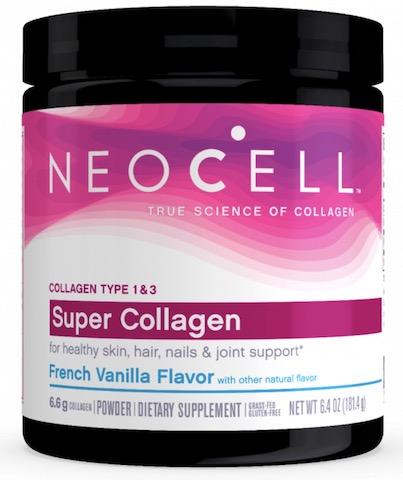 Image of Super Collagen Type 1 & 3 Powder French Vanilla