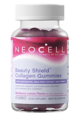 Image of Beauty Shield Collagen Gummies Blackberry Lemon
