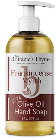 Image of Hand Soap Liquid Olive Oil Frankincense & Myrrh