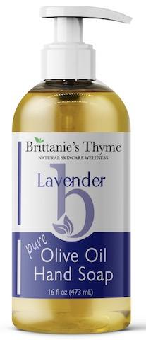 Image of Hand Soap Liquid Olive Oil Lavender