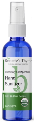 Image of Hand Sanitizer Spray Organic Rosemary & Peppermint