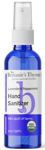 Image of Hand Sanitizer Spray Organic Lavender & Peppermint