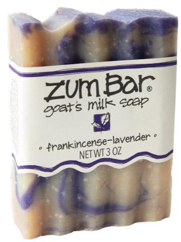 Image of ZUM Bar Goat Milk Soap Frankincense-Lavender