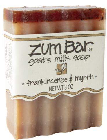Image of ZUM Bar Goat Milk Soap Frankincense & Myrrh