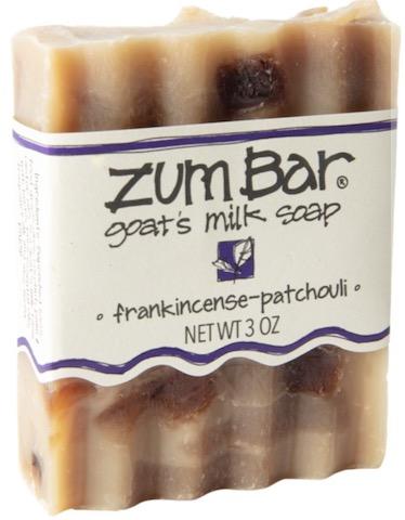 Image of ZUM Bar Goat Milk Soap Frankincense-Patchouli