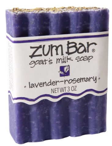 Image of ZUM Bar Goat Milk Soap Lavender-Rosemary