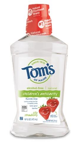 Image of Mouthwash Children Anti-Cavity (Fluoride) Silly Strawberry