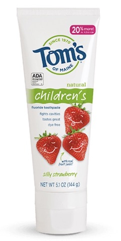 Image of Toothpaste Children's (Fluoride) Silly Strawberry