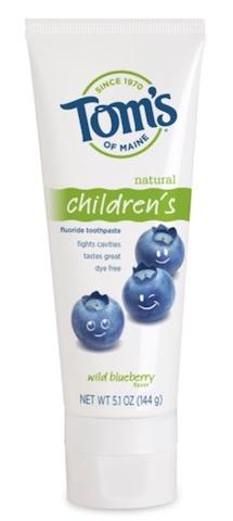 Image of Toothpaste Children's (Fluoride) Wild Blueberry
