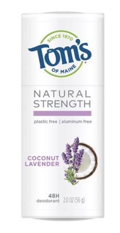 Image of Deodorant Stick Natural Strength Plastic Free Coconut Lavender