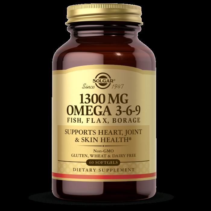 Image of Omega 3-6-9 1300 mg (Fish, Flax, Borage)