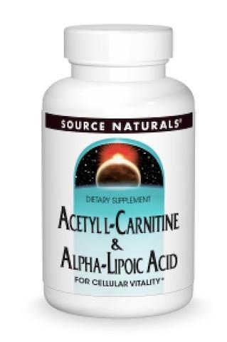 Image of Acetyl L-Carnitine & Alpha Lipoic Acid 500/150 mg