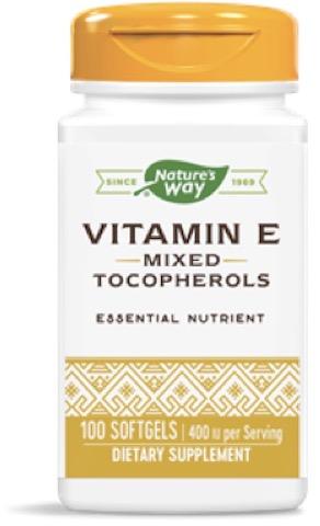Image of Vitamin E Mixed Tocopherols 400 IU