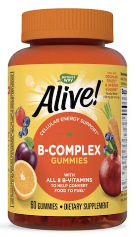 Image of Alive! B-Complex Gummies