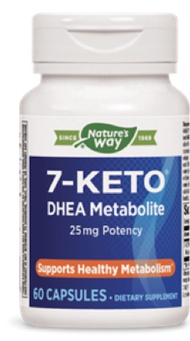 Image of 7-KETO DHEA Metabolite 25 mg