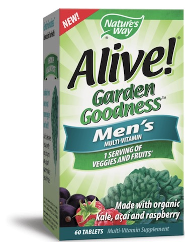 Image of Alive! Garden Goodness MultiVitamin Men's