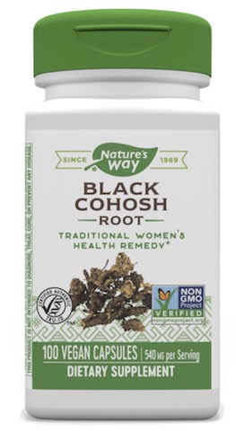 Image of Black Cohosh Root 540 mg