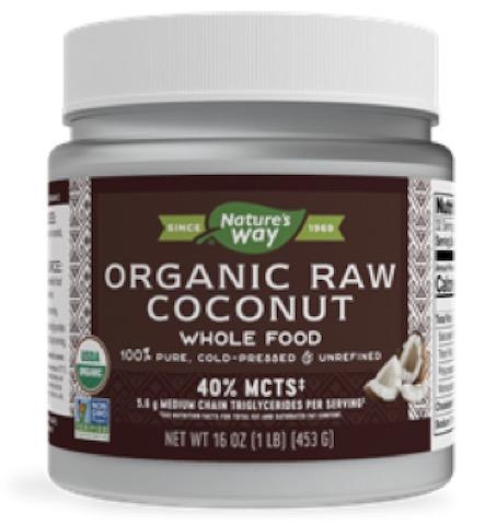 Image of Coconut Oil Raw Organic