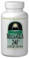 Image of Mega-GLA 240, Borage Seed Oil