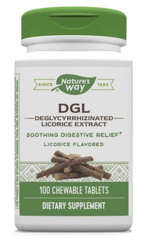 Image of DGL 25 mg Chewable