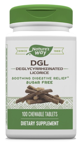 Image of DGL 25 mg Chewable Sugar Free