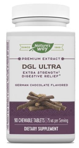 Image of DGL Ultra 25 mg Chewable German Chocolate