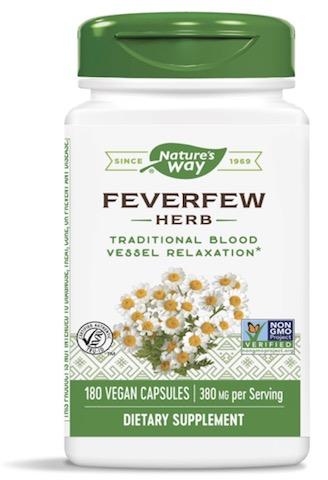 Image of Feverfew Leaves 380 mg
