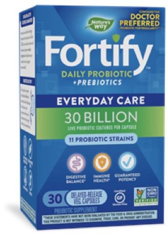 Image of Fortify Daily Probiotic + Prebiotics 30 Billion
