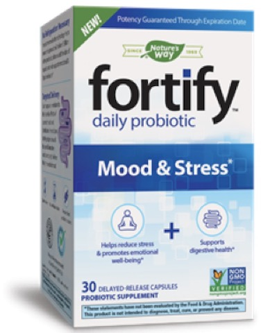 Image of Fortify Daily Probiotic 5 Billion Mood & Stress