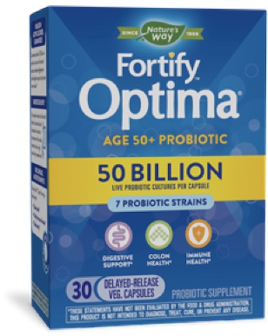 Image of Fortify Optima Probiotic Adult 50+ 50 Billion